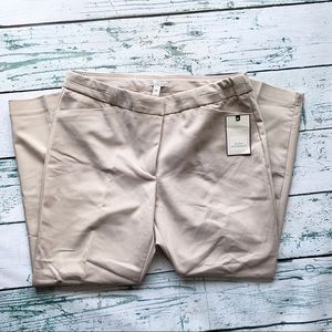 DANA BUCHMAN TAN TROUSERS WOMEN's SIZE 14 NWT